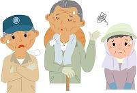 高齢化に悩む農業従事者