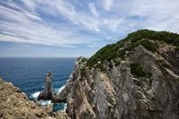 高知県 大堂海岸の観音岩