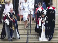 イギリス・ガーター勲章授与式