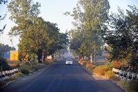インド アウランガーバード近郊 アジャンターへの道
