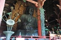 奈良県 東大寺の大仏(盧舎那仏)