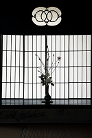 京都府 障子の模様