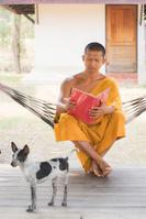 タイ アユタヤ 僧侶