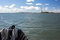 アメリカ合衆国 ニューヨーク リバティー島と自由の女神像