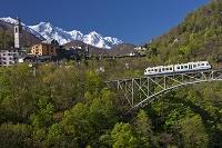 スイス チェントヴァッリ鉄道