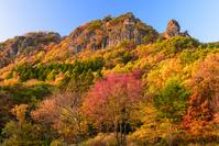 福島県 伊達市 霊山の秋