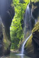 大分県 夏の由布川渓谷