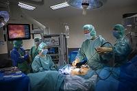 内視鏡手術の様子