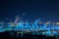 岡山県 水島の工場夜景