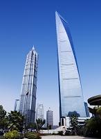 上海環球金融中心と金茂大厦88層観光庁