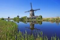 オランダ キンデルダイク 風車