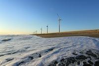 茨城県 鹿島灘の風車
