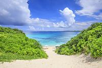 沖縄県 砂山ビーチ