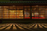 長野県 海野宿のひな祭り 夜景