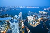 ランドマークタワーから横浜の夜景