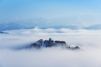 福井県 雲海の大野城