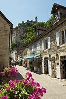 フランス ロカマドゥールの町並み