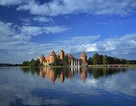 リトアニア トラカイ島城