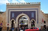 ブー・ジュルード門 モロッコ フェズ