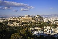ギリシャ アテネ 俯瞰