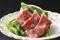 牛肉とシシトウガラシ