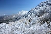 大分県 牧の戸峠より三俣山