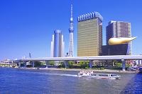 東京都 隅田川とスカイツリー
