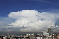 東京都 スーパーセル かなとこ雲