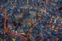 東京都 神保町周辺の夜景