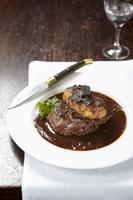 フランス料理 トゥールヌドー・ロッシーニ(牛ヒレ肉、フォワグ...