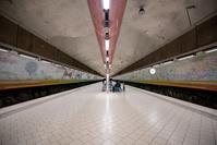 スウェーデン ストックホルム地下鉄駅