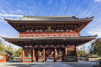 日本 東京都 浅草寺雷門