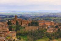 イタリア シエナ 教会と町並み