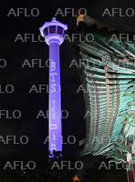 BTSジミンの誕生日を記念し釜山タワーでライトショー