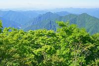 奈良県 大台ケ原からの山陵