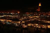 モロッコ ジャマ・エル・フナ広場