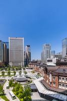 東京都 KITTEビルから見た丸の内駅前広場