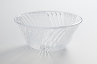ガラスの深皿