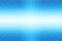 四角形と光イメージ CG