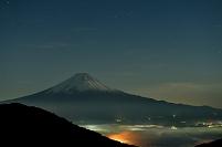 山梨県 御坂峠より富士山