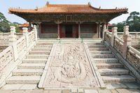 中国 遼寧省 瀋陽 福陵 隆恩殿