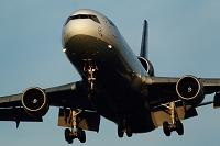 MD-11 着陸 ルフトハンザドイツ航空