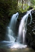 東京都 八王子城跡 御主殿の滝
