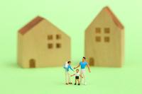 フィギュア 家族とマイホーム