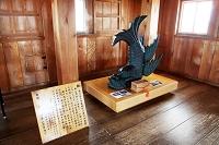 掛川城 天守閣の鯱(複製) 静岡県 掛川市