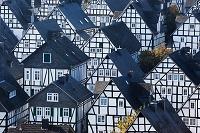 ドイツ フロイデンベルク木組みの家並み
