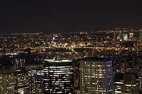 アメリカ ウィリアムスバーグブリッジ 夜景
