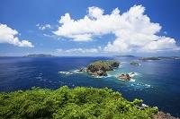 小笠原諸島 母島 小富士より鰹鳥島