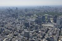 京橋二丁目西地区再開発より有楽町方面