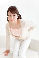 腰痛の日本人女性